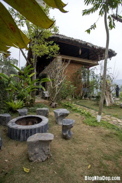 4 2 Nhà trên đồi với kiến trúc đơn giản ở Hòa Bình