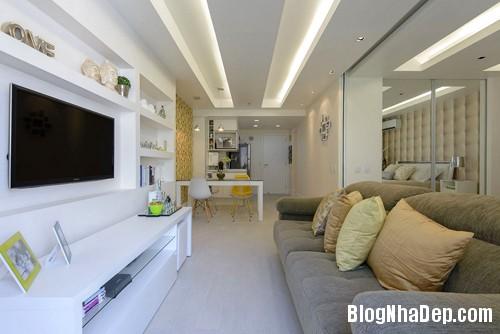 45m2100214 1 Thiết kế nội thất hoàn hảo cho nhà chung cư nhỏ