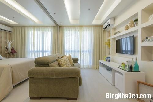 45m2100214 2 Thiết kế nội thất hoàn hảo cho nhà chung cư nhỏ