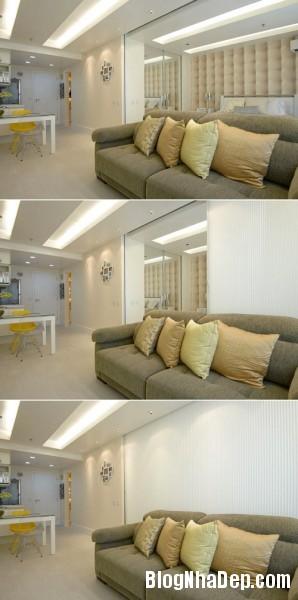 45m2100214 6 298x600 Thiết kế nội thất hoàn hảo cho nhà chung cư nhỏ