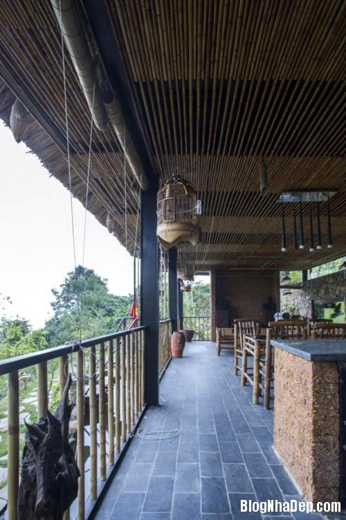 5 4 Nhà trên đồi với kiến trúc đơn giản ở Hòa Bình