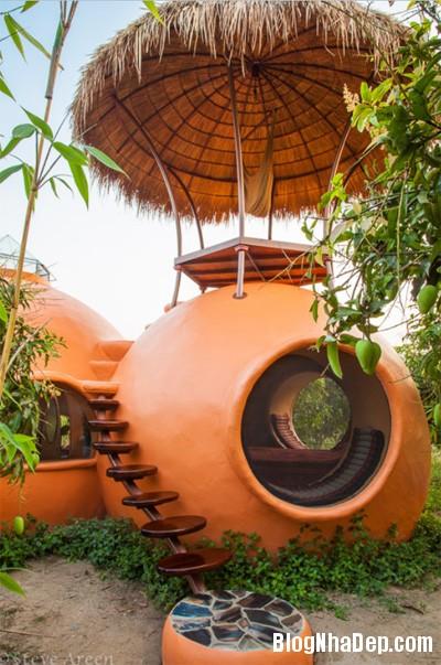Untitled 2 2329 1395123317 Ngôi nhà như resort mini với thiết kế độc và lạ ở Thái Lan