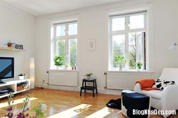 baitri090114 8 Nội thất trong căn hộ hình chữ L