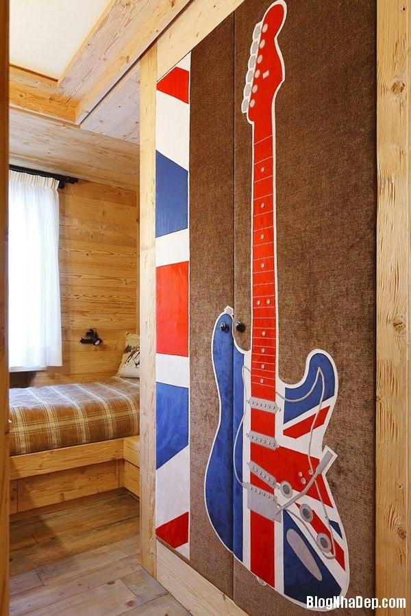 h12 casa cojana oqsq.jpg Ngôi nhà gỗ nằm trong khu resort nghỉ dưỡng ở miền bắc nước Ý