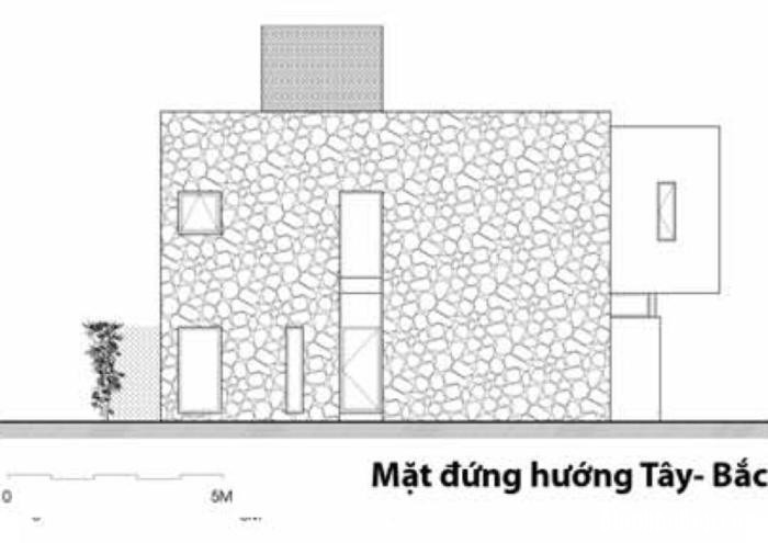 mat dung tay bac1 Nhà trên đồi với kiến trúc đơn giản ở Hòa Bình