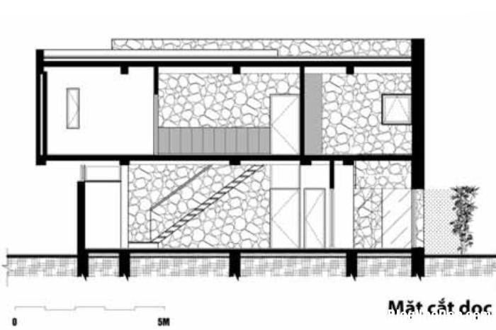 mc doc1 Nhà trên đồi với kiến trúc đơn giản ở Hòa Bình