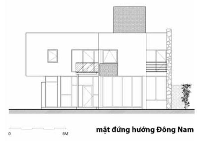 md dong nam1 Nhà trên đồi với kiến trúc đơn giản ở Hòa Bình