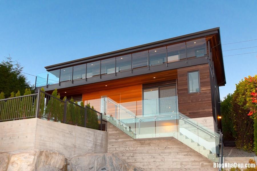 nhacanada091113 3 Ngôi nhà hiện đại nhưng ấm áp ở Canada
