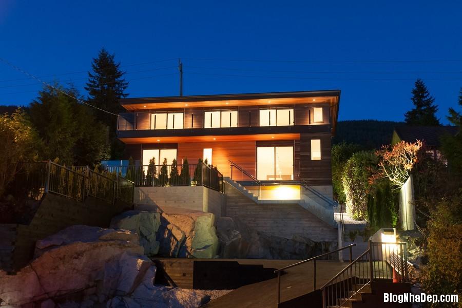 nhacanada091113 5 Ngôi nhà hiện đại nhưng ấm áp ở Canada