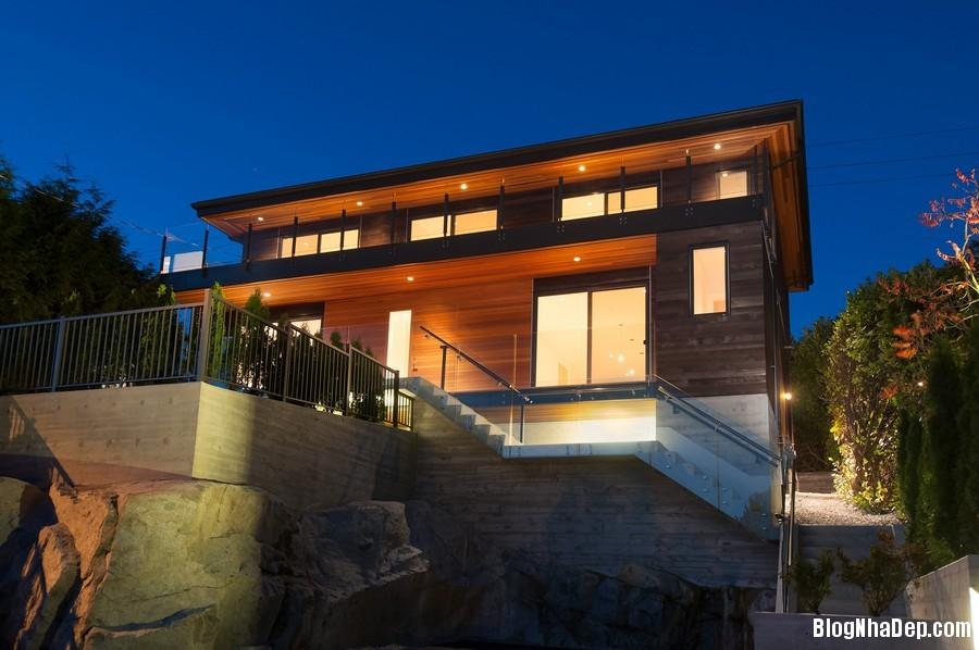 nhacanada091113 6 Ngôi nhà hiện đại nhưng ấm áp ở Canada