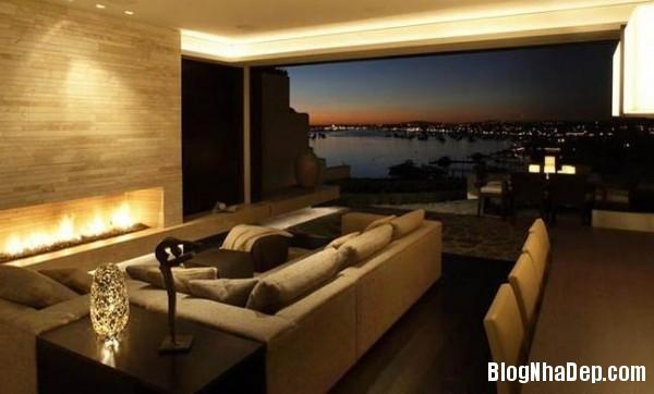 penhouse040414 1 600x362 Căn hộ penthouse 2 tầng lầu tuyệt đẹp với thiết kế tinh tế