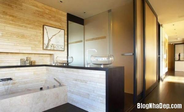 penhouse040414 10 600x364 Căn hộ penthouse 2 tầng lầu tuyệt đẹp với thiết kế tinh tế