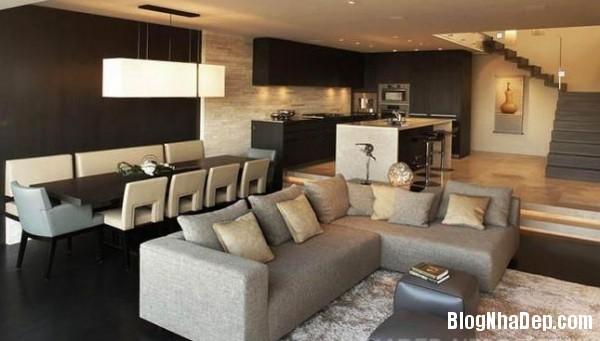 penhouse040414 2 600x341 Căn hộ penthouse 2 tầng lầu tuyệt đẹp với thiết kế tinh tế