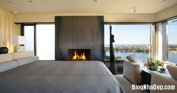 penhouse040414 4 600x317 Căn hộ penthouse 2 tầng lầu tuyệt đẹp với thiết kế tinh tế