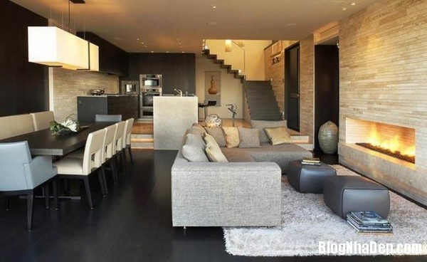 penhouse040414 8 600x368 Căn hộ penthouse 2 tầng lầu tuyệt đẹp với thiết kế tinh tế