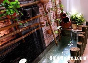 tretrongkhonggiamhiendai 05 Sử dụng tre trong trang trí nội ngoại thất