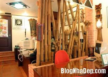 tretrongkhonggiamhiendai 07 Sử dụng tre trong trang trí nội ngoại thất