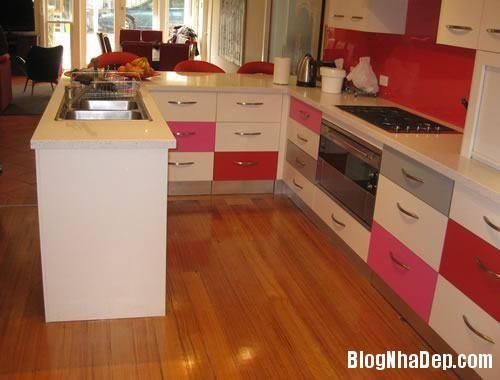 10786  tu bep mau sac dep 1 Màu sắc sinh động cho không gian nhà bếp