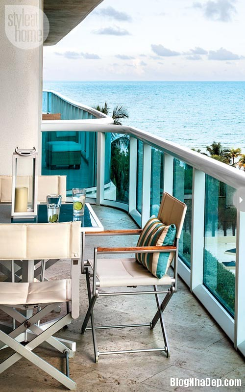 1372895164 fresh miami condo turquoiseglass Ngắm căn hộ cao cấp bên bờ biển Miami