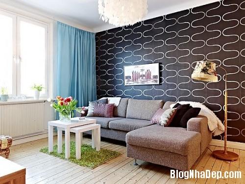 183132 Thiết kế nội thất cho căn hộ 60m2 đơn giản nhưng không nhàm chán