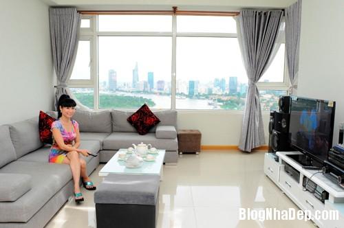 20130701083818621 Căn hộ cao cấp nhìn ra sông Sài Gòn của nữ diễn viên Uyên Thảo