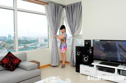 20130701083821804 Căn hộ cao cấp nhìn ra sông Sài Gòn của nữ diễn viên Uyên Thảo