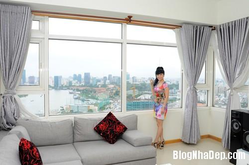 20130701083822506 Căn hộ cao cấp nhìn ra sông Sài Gòn của nữ diễn viên Uyên Thảo