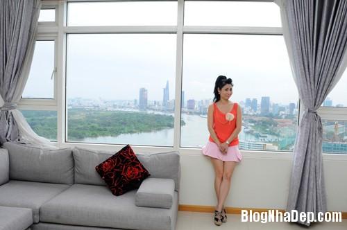 20130701083822911 Căn hộ cao cấp nhìn ra sông Sài Gòn của nữ diễn viên Uyên Thảo