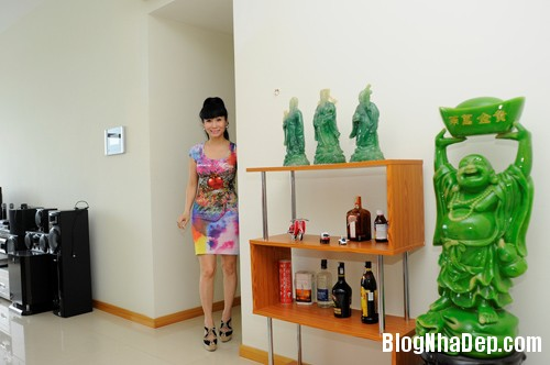 20130701083824191 Căn hộ cao cấp nhìn ra sông Sài Gòn của nữ diễn viên Uyên Thảo