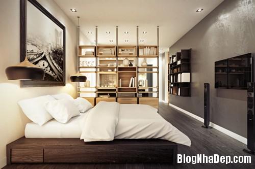 20130719080139856 Sức hấp dẫn từ căn hộ nhỏ nhắn