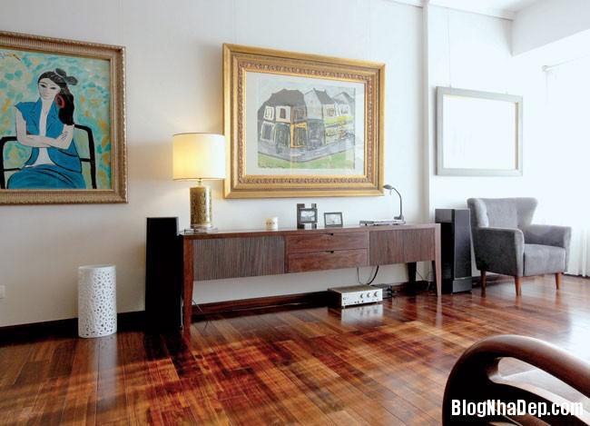 20130822081221282 Ngôi nhà trang trí với tranh vẽ của một nữ họa sĩ