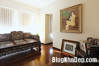 20130822081222311 Ngôi nhà trang trí với tranh vẽ của một nữ họa sĩ