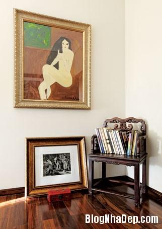 20130822081222358 Ngôi nhà trang trí với tranh vẽ của một nữ họa sĩ