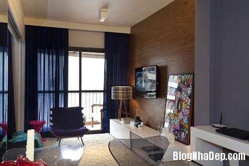 20130827102853494 Thiết kế nội thất cá tính cho căn hộ nhỏ 45m2