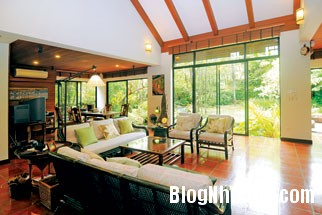 20130830095650578 Ngôi nhà vườn đúng chất gần gũi thiên nhiên ở Bangkok