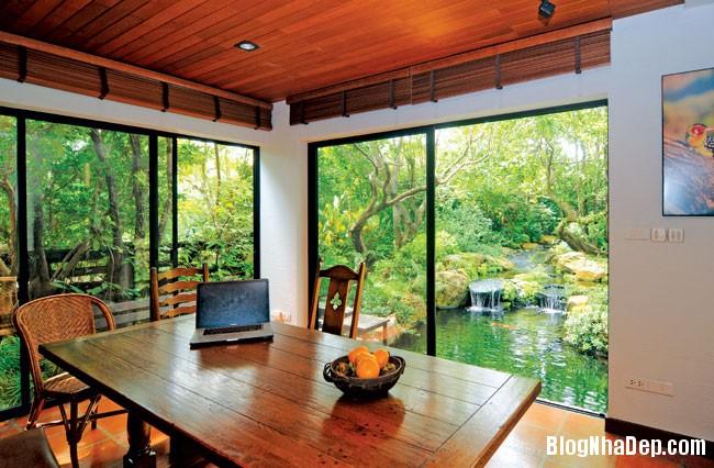 20130830095651263 Ngôi nhà vườn đúng chất gần gũi thiên nhiên ở Bangkok