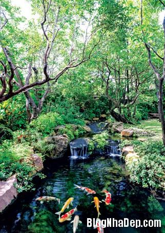 20130830095657443 Ngôi nhà vườn đúng chất gần gũi thiên nhiên ở Bangkok
