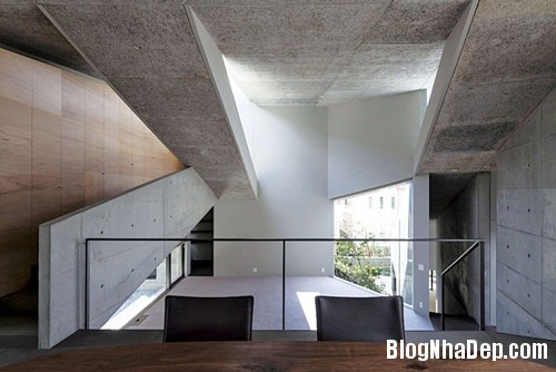 20131125073846077 Thiết kế ngôi nhà trên lô đất có địa thế phức tạp