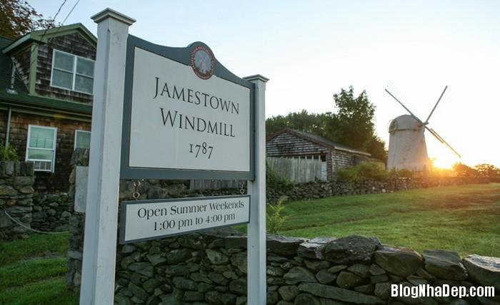 20131211013042251 Ngôi nhà tuyệt đẹp với cối xay gió ở Rhode Island, Mỹ