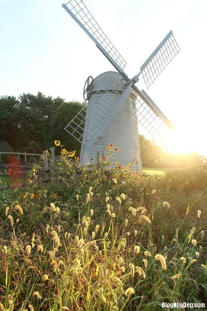 20131211013046853 Ngôi nhà tuyệt đẹp với cối xay gió ở Rhode Island, Mỹ