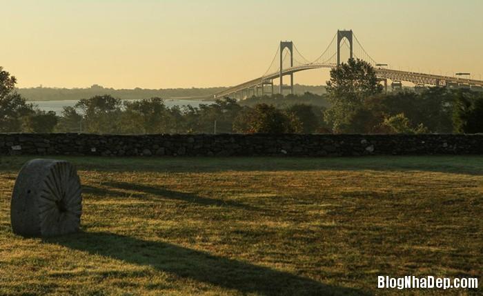 20131211013050940 Ngôi nhà tuyệt đẹp với cối xay gió ở Rhode Island, Mỹ