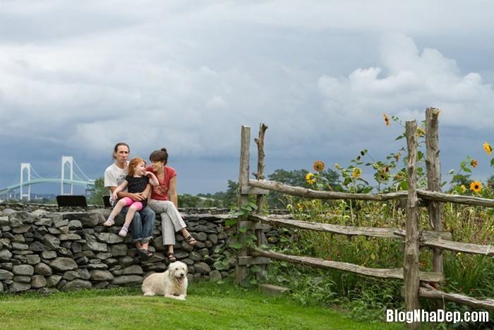 20131211013053608 Ngôi nhà tuyệt đẹp với cối xay gió ở Rhode Island, Mỹ
