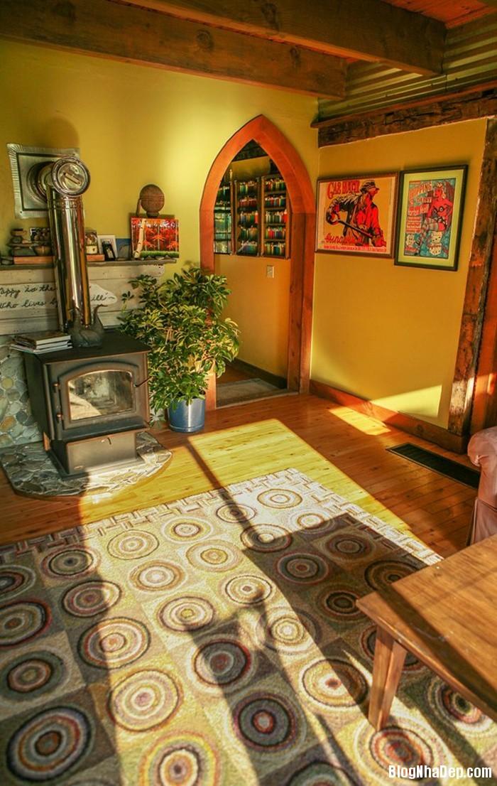 20131211013102453 Ngôi nhà tuyệt đẹp với cối xay gió ở Rhode Island, Mỹ