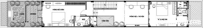 20131211013300124 Thiết kế không gian hài hòa cho nhà ống