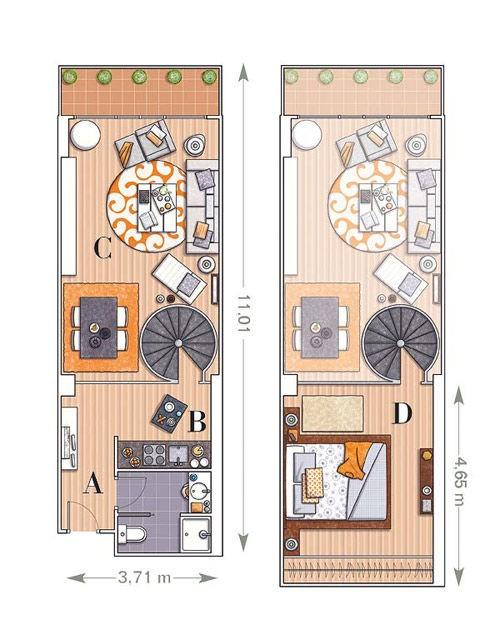 20131213013449549 Bí quyết thiết kế nội thất thông minh cho căn hộ nhỏ