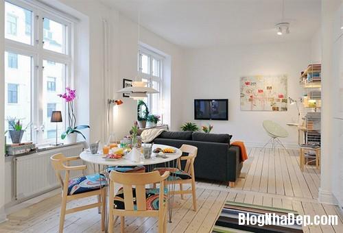 20131216102308315 Không gian sống tiện nghi trong căn hộ khiêm tốn chỉ 40m2