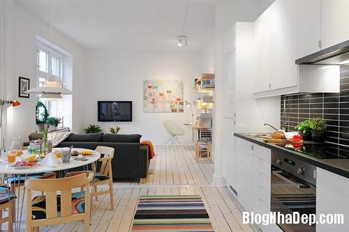 20131216102310967 Không gian sống tiện nghi trong căn hộ khiêm tốn chỉ 40m2