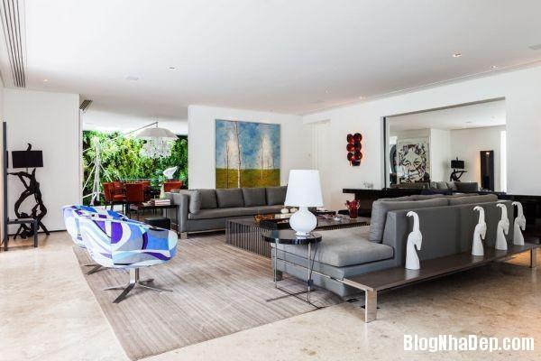 20131230081640531  NS house   Nhà đẹp nhờ pha trộn nhiều phong cách ở Sao Paulo