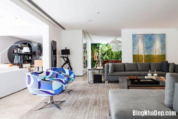 20131230081644087  NS house   Nhà đẹp nhờ pha trộn nhiều phong cách ở Sao Paulo