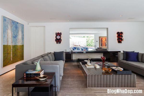 20131230081644805  NS house   Nhà đẹp nhờ pha trộn nhiều phong cách ở Sao Paulo